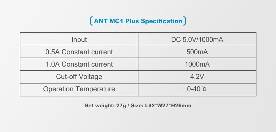 Xtar MC1 Plus Ant