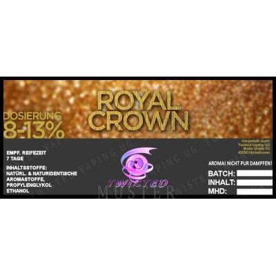 TF Royal Crown 10ml (vanília, mandula, barna cukor, kókusz)