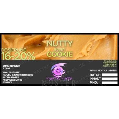 TF Nutty Bobby Cookie 10ml (csokoládé, földimogyoró, vanília)