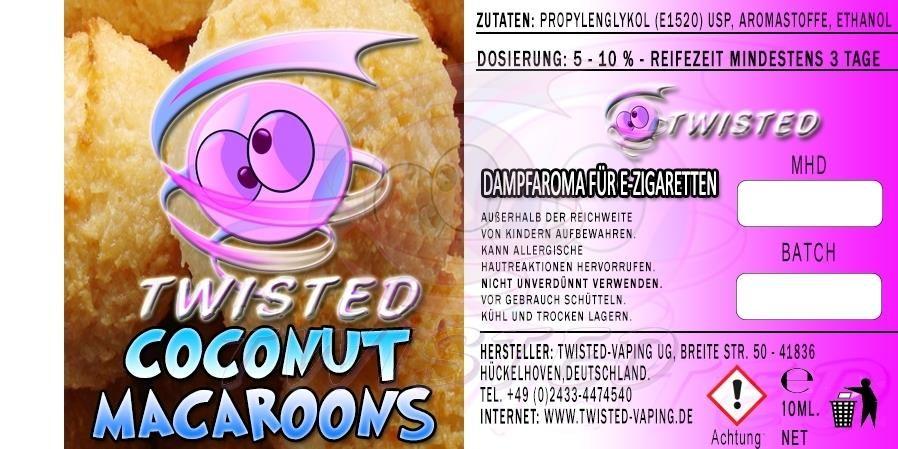 TF Coconut Macaroons 10ml (kókuszcsók)