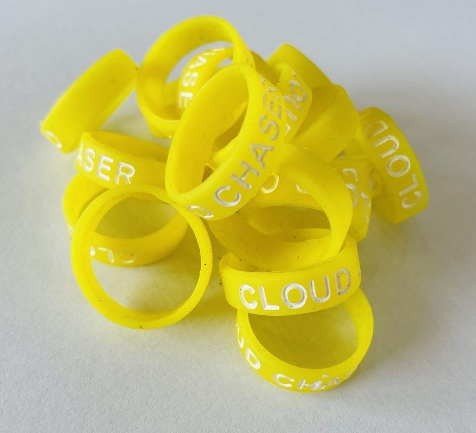 Vape Band orange Cloud Chaser