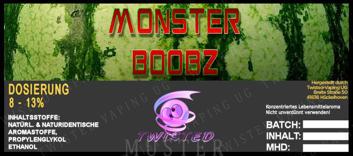 TF Monster Boobz (dinnye+mangó+X)