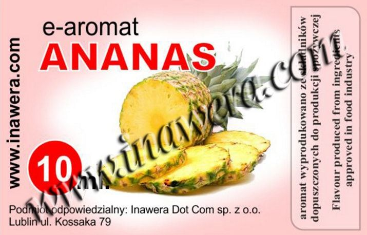IW Pineapple 10ml