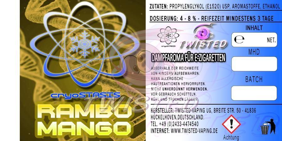 TFCR Rambo Mango 10ml
