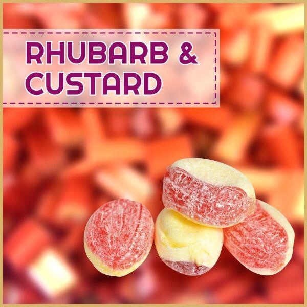 MJ Rhubarb Custard