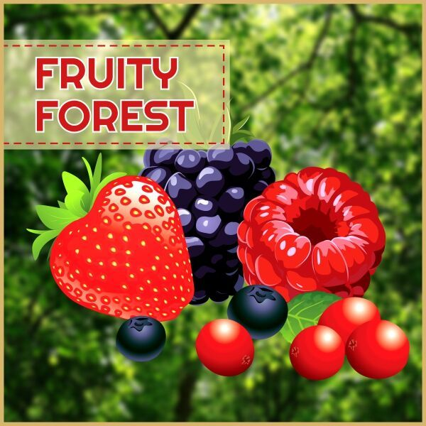 MJ Fruity Forest 60ml