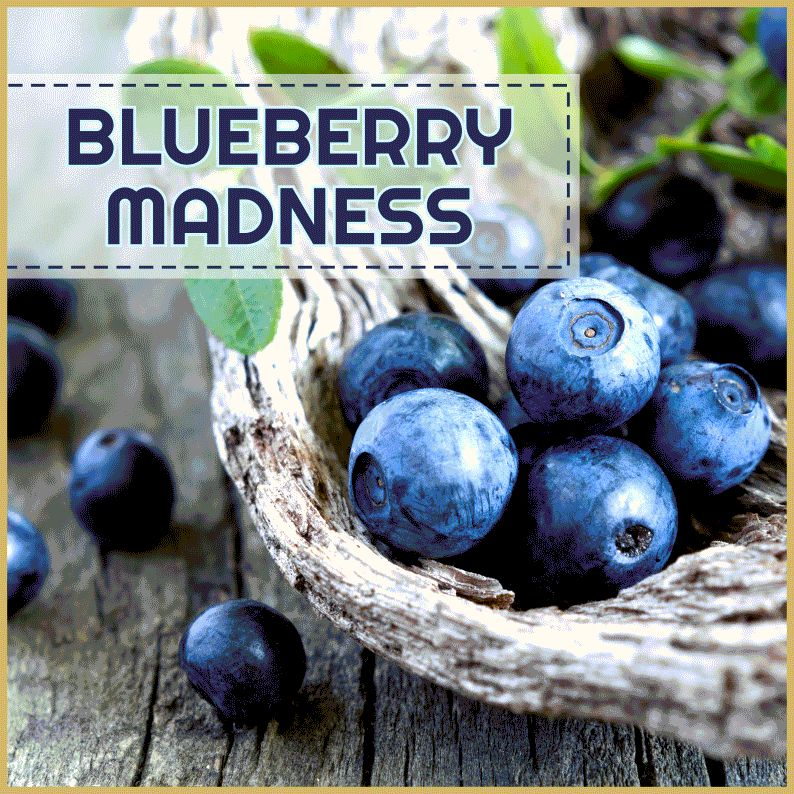 MJ Blueberry Madness 60ml