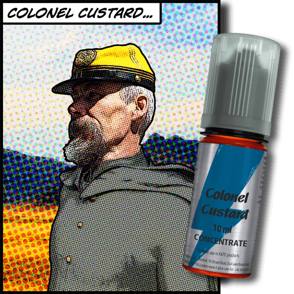 TJ Colonel Custard 10ml
